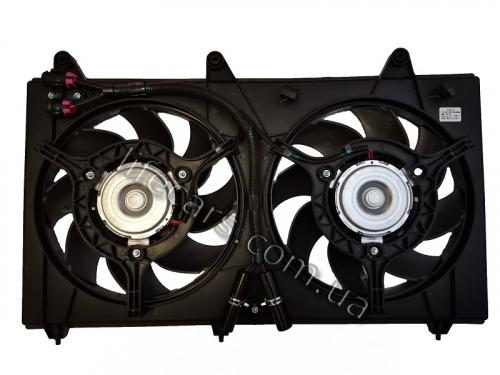 S21-1308010 Вентилятор охолодження радіатора двигуна Chery Jaggi
